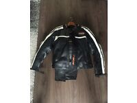 Women's motorcycle leathers size 10