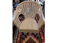 Ikea wicker rattan chair