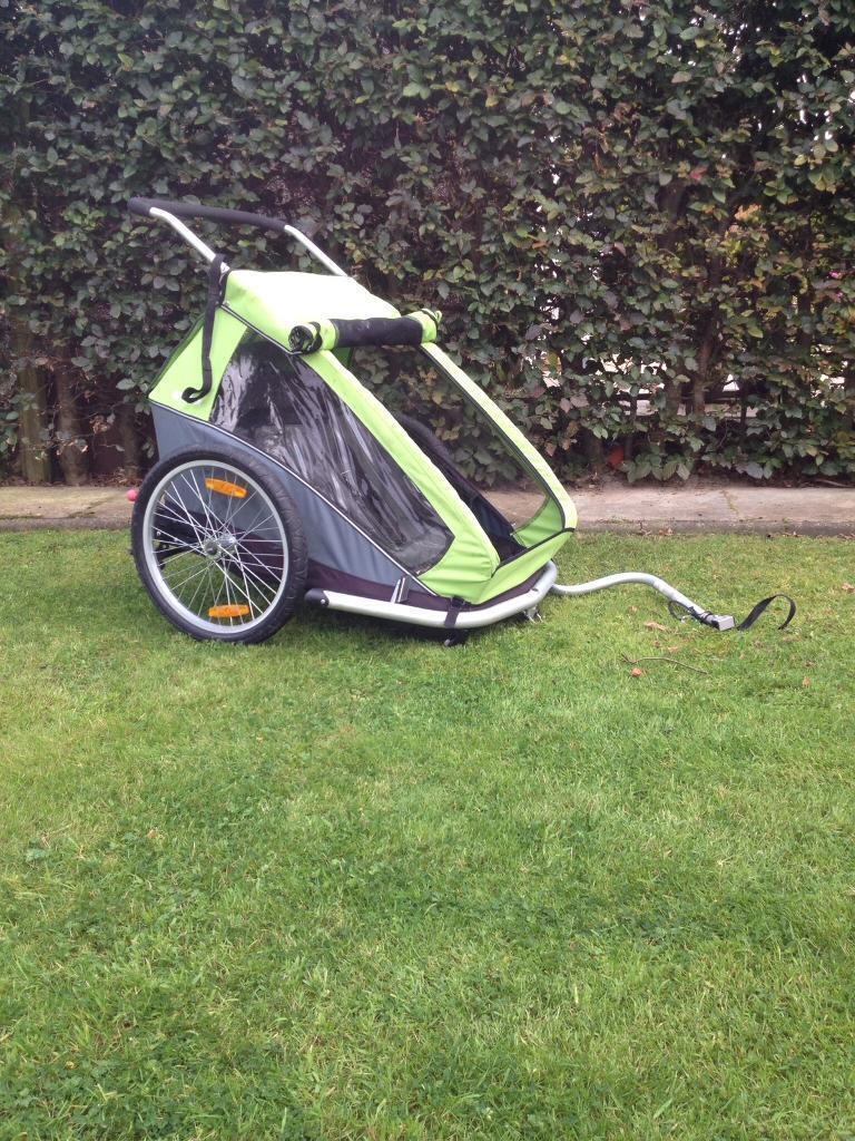 Croozer Kid 2 double bike trailer/stroller/jogger