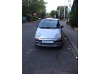 Daewoo Matiz 0.8L SE 2000 Plate W Reg Silver Manual Hatchback Alloy Wheels CD Player Chevrolet