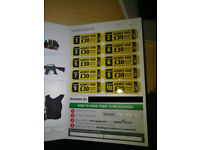 International Paintball Group tickets for 20 GBP (instead of 30GBP)
