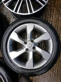 3 x Nissan note / Micra alloy wheels