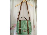 Shoulder satchel style bag. By FOSSIL