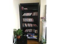 Ikea Hemnes Black/Brown Bookcase, exc condition