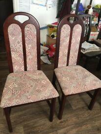 Two brand new chairs for sale