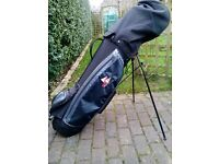 Used Hippo Golf Bag & selection of clubs