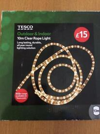 10m Clear Rope Light