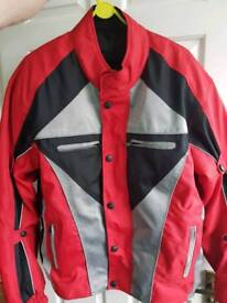Xl motor bike jacket.as new.