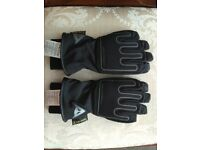 ladies D dry dainese motorcycle gloves size 7 M