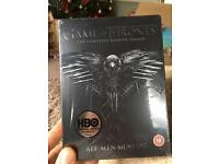 Game of thrones season 4 box set ( New and sealed )