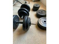 Dumbbell with variety of weights