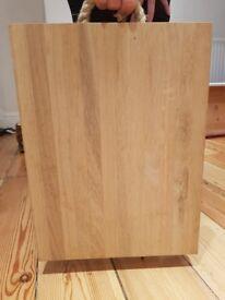 Solid oak chopping board - Brand New