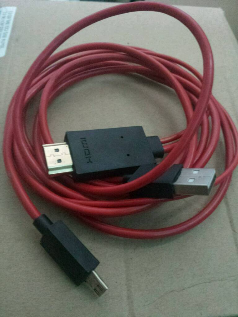 Phone To Tv Plug n Play HDMI USB Cable