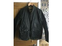 Barbour bomber jacket