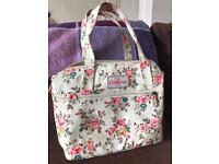 Cream flowery cath kidston handbag