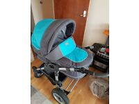 Very good condition 3 in 1 baby pram