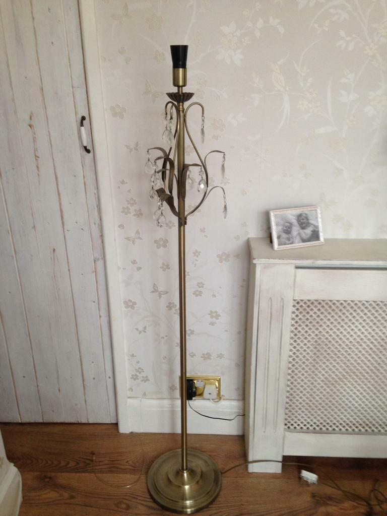 Standard lamp base.