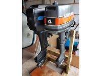 Mercury 7.5HP and Mariner 4HP Outboards