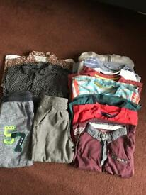 Variety of boys clothes age 3-4