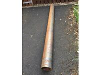 168mm Diameter Heavy Duty Steel Pipe suitable for Gate Posts