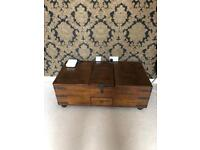 DFS Drake Coffee Table / Chest - Nearly New