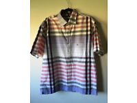 Burberry Mens Casual/Smart Shirt, Great Quality, Striped Pattern, Size 3L