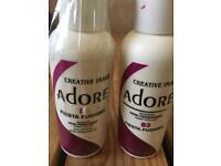 Adore semi permanent hair dye