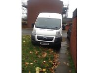 van and man removals per mile £1