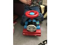 Push along ride on Thomas
