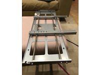 Large adjustable tv wall mount (flat)