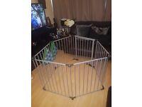 Grey Baby Dan configure gate