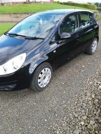 January 2010 Vauxhall Corsa EXCLUSIV 1.4