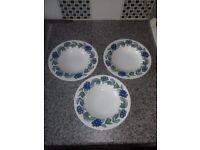 3 susie cooper bowls