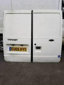 Ford transit rear doors and sliding door