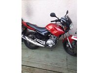 Yamaha ybr 125 2011 clean 1 years m.o.t