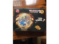 Wasgij jigsaw puzzle no.1 Sunday Drivers