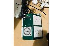 Cheshunt Hydroponics Store - used 4 way Green Power timer contactor unit