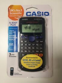 Casio fx-83GT PLUS, unused and in original packaging