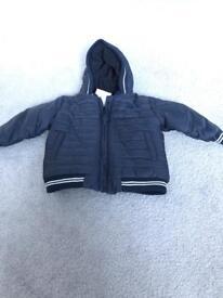 Next navy baby boys jacket BNWT