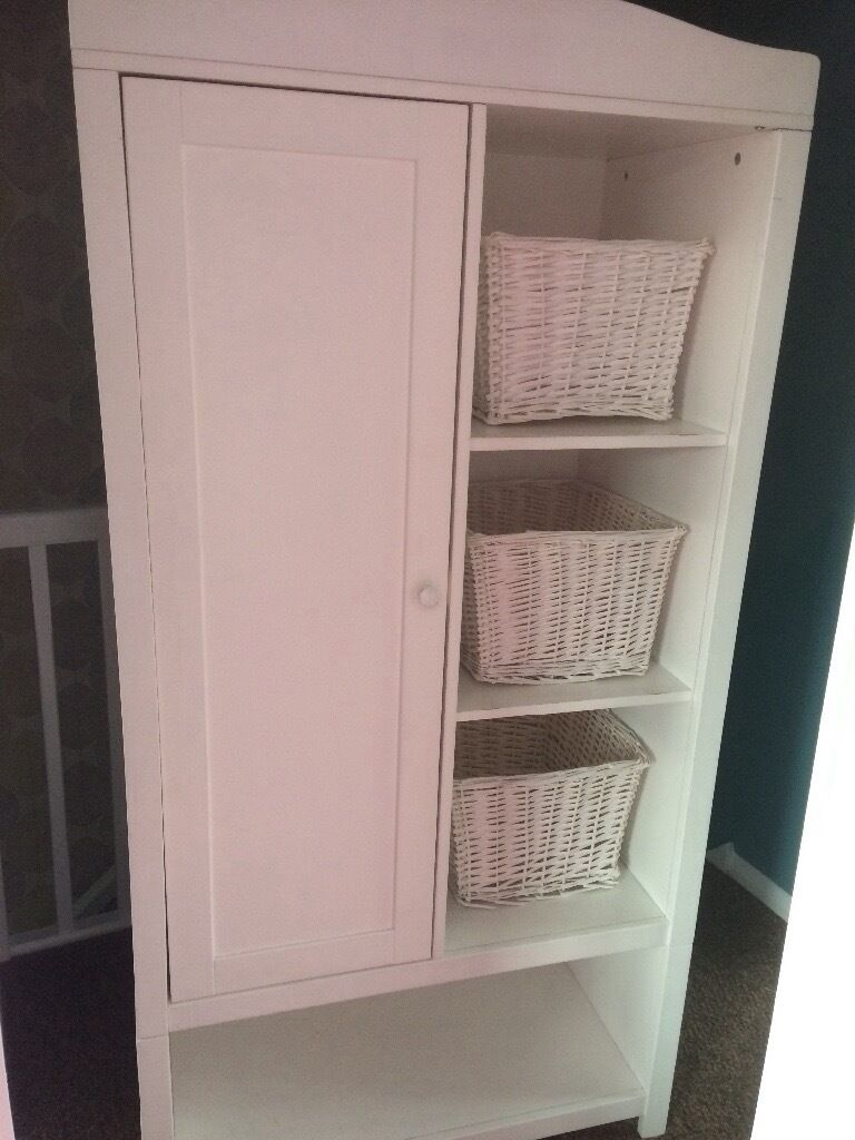 Toys r us white nursery wardrobe | in Scunthorpe, Lincolnshire ...