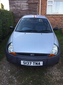 FORD KA 1.3. MOT until mid Feb 2017 41K Mileage £300.00 ONO