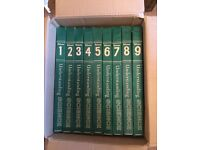 Collection of Understanding Science Magazines bound in 9 volumes