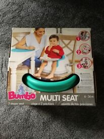 Bumbo multi seat brand new in box