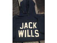 Ladies Jack Wills hoodie UK size 10