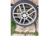 TSW multi stud alloy wheels 17'