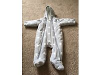 Marks and Spencer Unisex Baby Snowsuit - 0-3 months