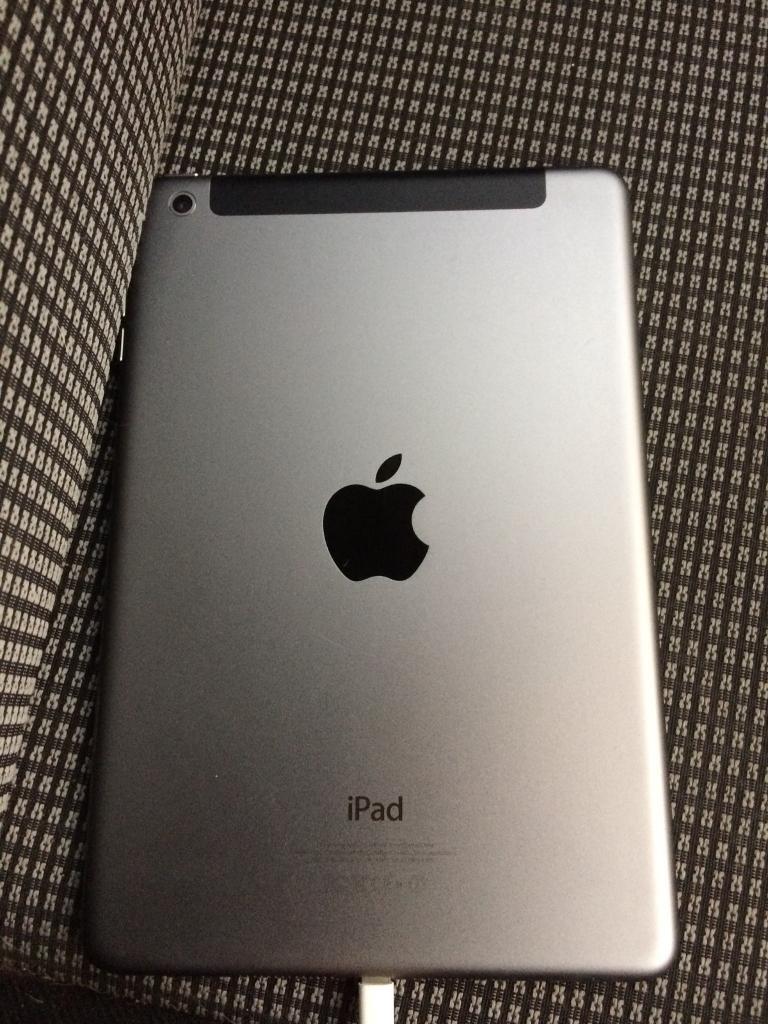 iPad mini 16gb WiFi and cellular locked to EE