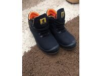 Steel Toe Capped Boots Size 5/38 Black