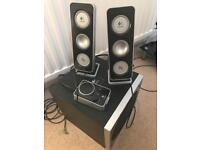 Logitech Z4 PC Speakers and Subwoofer