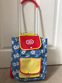 Chad Valley Children's Shopping trolley & rucksack In One